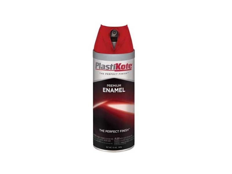 plasti kote premium enamel spray paint swift red t 6. Black Bedroom Furniture Sets. Home Design Ideas