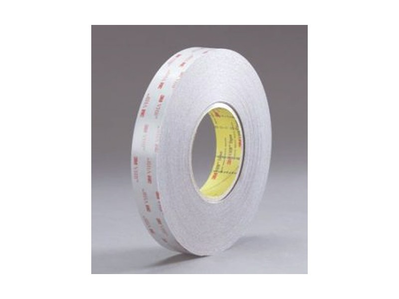 3M Double-Sided VHB Tape 5915 Black, 1 in x 72 yd, 16 0 mil