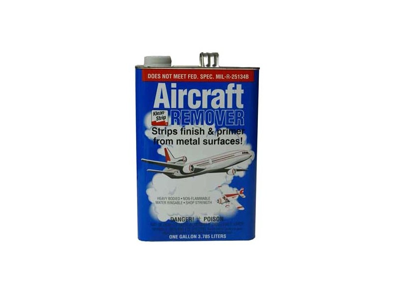 Klean Strip Aircraft Remover Gar343 Paint Stripper 1 Gallon